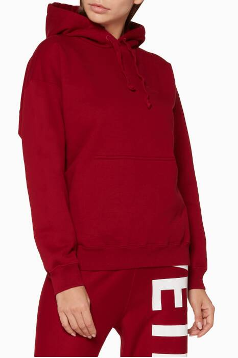 Red Inside-Out Hoodie