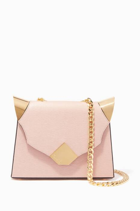 Nude Baby Marshall Verona Leather Shoulder Bag