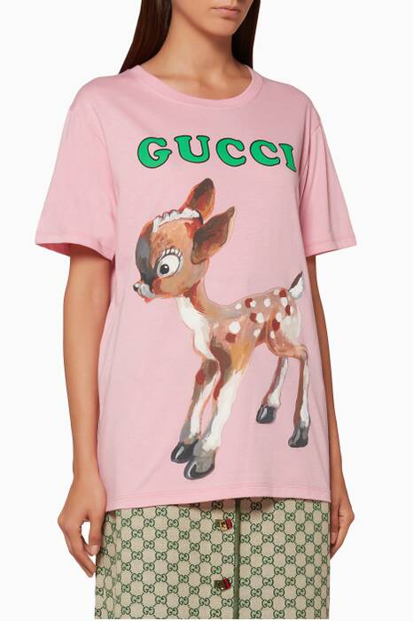 Light-Pink Logo & Fawn T-Shirt
