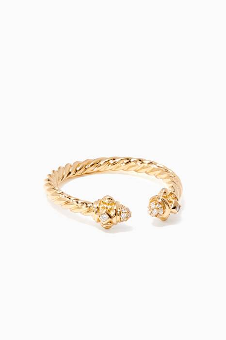 Yellow-Gold & Renaissance Ring