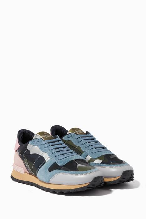 Multi-Coloured RockRunner Camo Sneakers