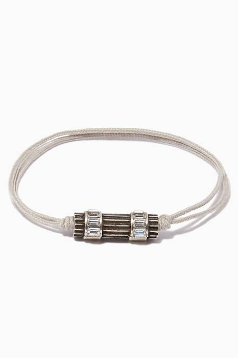 Light-Grey Woman in Paris Bracelet