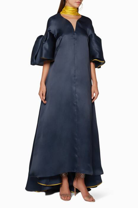 Midnight Farola Long Dress