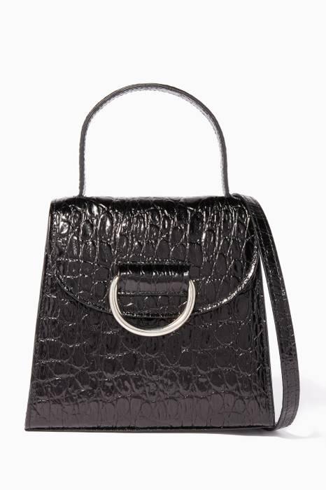 cd95f19814 Shop Luxury Coach Black Embossed Edie 31 Shoulder Bag | Ounass UAE