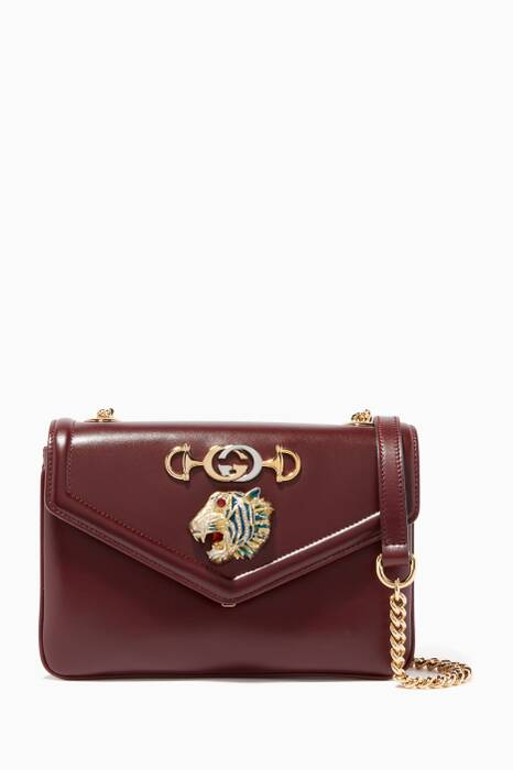 Burgundy Small Rajah Shoulder Bag