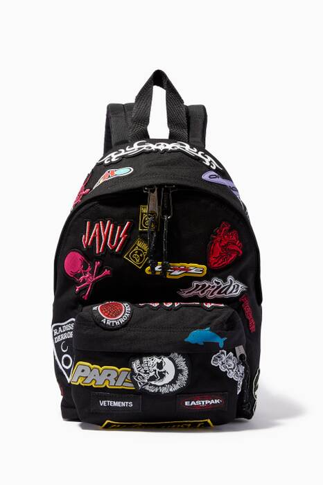 Vetements X Eastpak Embroidered Backpack