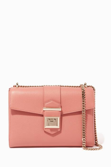 Rosewood Small Marianne Leather Shoulder Bag