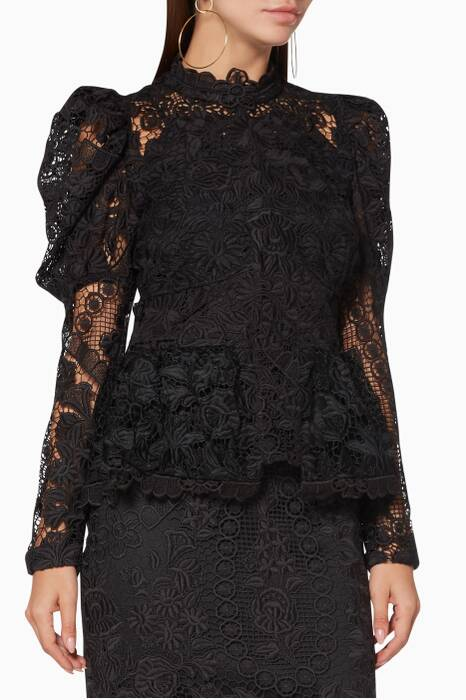 Black Lace Pradera Top