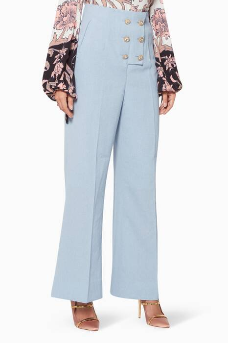 Blue Higher Ground Pants