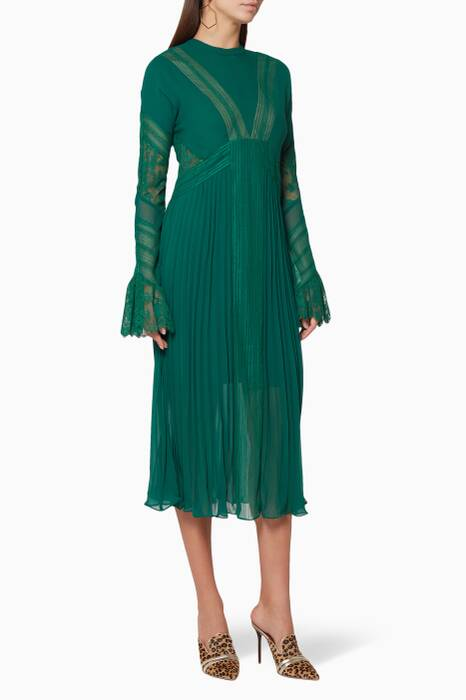 Galapagos-Green Jade Dress