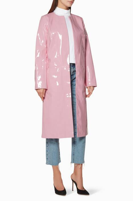 Rose-Quartz Shiny Liam Coat