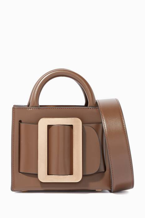 Brown Bobby 16 Leather Shoulder Bag