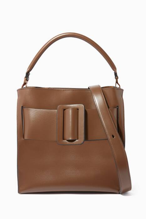Dark-Brown Devon Leather Shoulder Bag