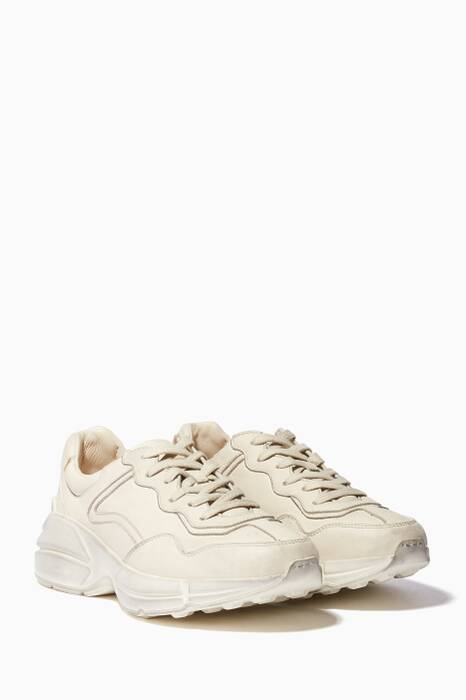 Ivory Rhyton Chunky Sneakers