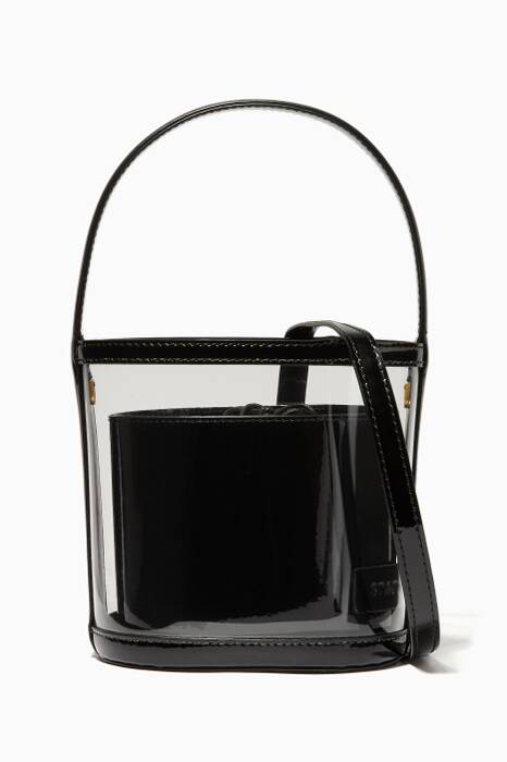 Black & Clear Bissett Bag