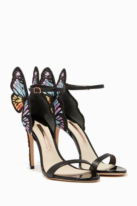 Embroidered Chiara Butterfly Sandals