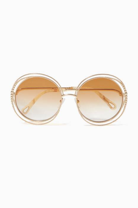 Gold-Tone Carlina Twist Sunglasses