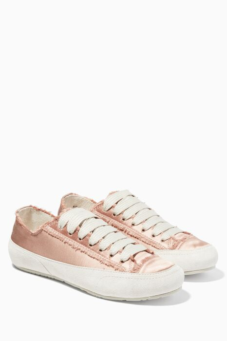 Light Pastel Pink Parson Sneakers