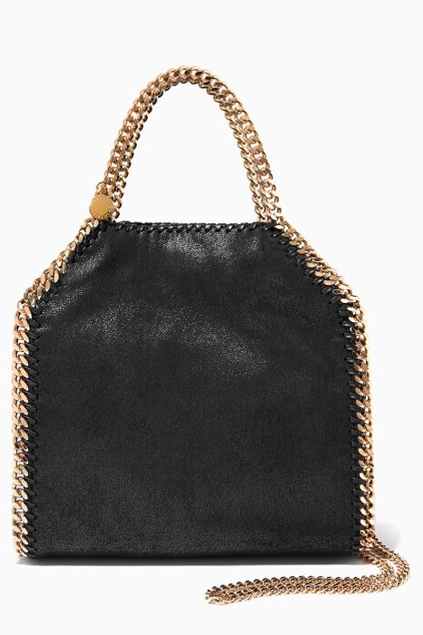 Black Falabella Mini Shoulder Bag