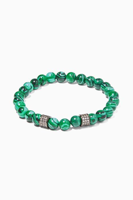 Green Malachite Stone Bracelet