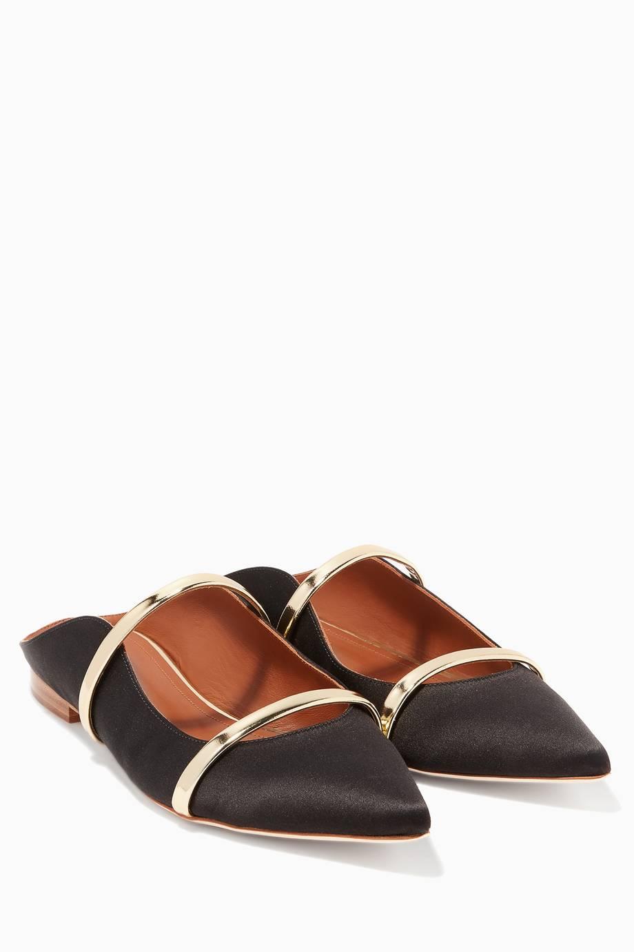 Malone Chaussures Souliers Maureen Plate - Noir NRstFM5hG1