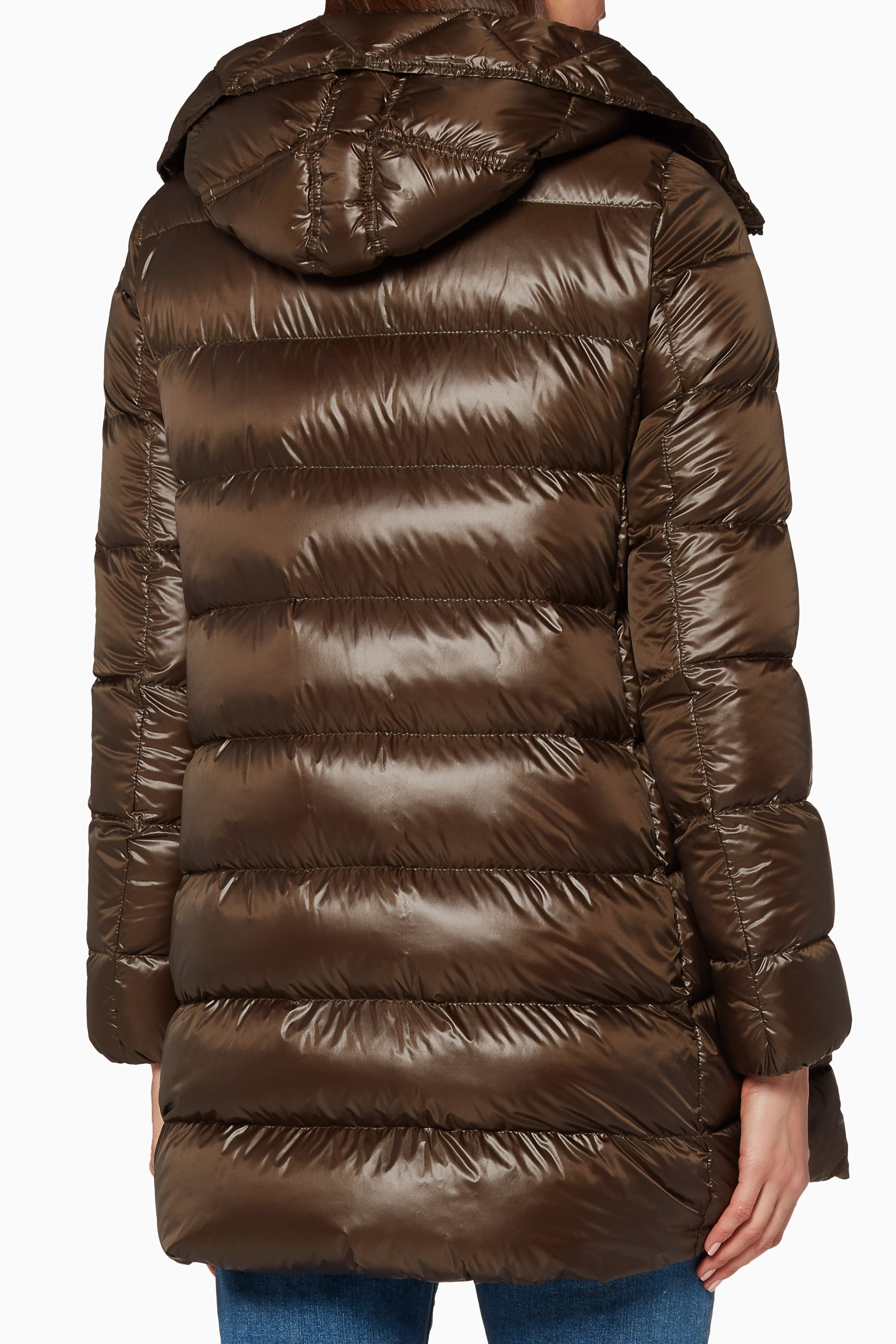 moncler suyen dark green