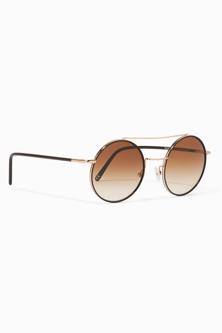 444de1b9c تسوق نظارات تاتي ذهبية من اندي وولف | اُناس الكويت