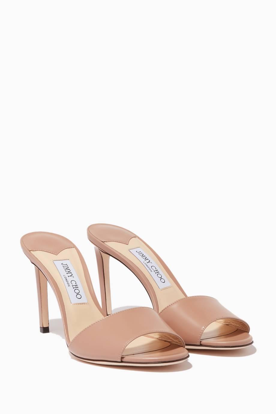 Sandals for Women On Sale, Black, suede, 2017, 4 4.5 5.5 7.5 Jimmy Choo London
